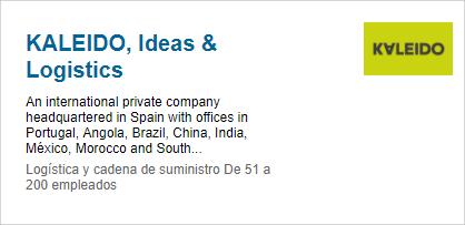 Kaleido Linkedin profile